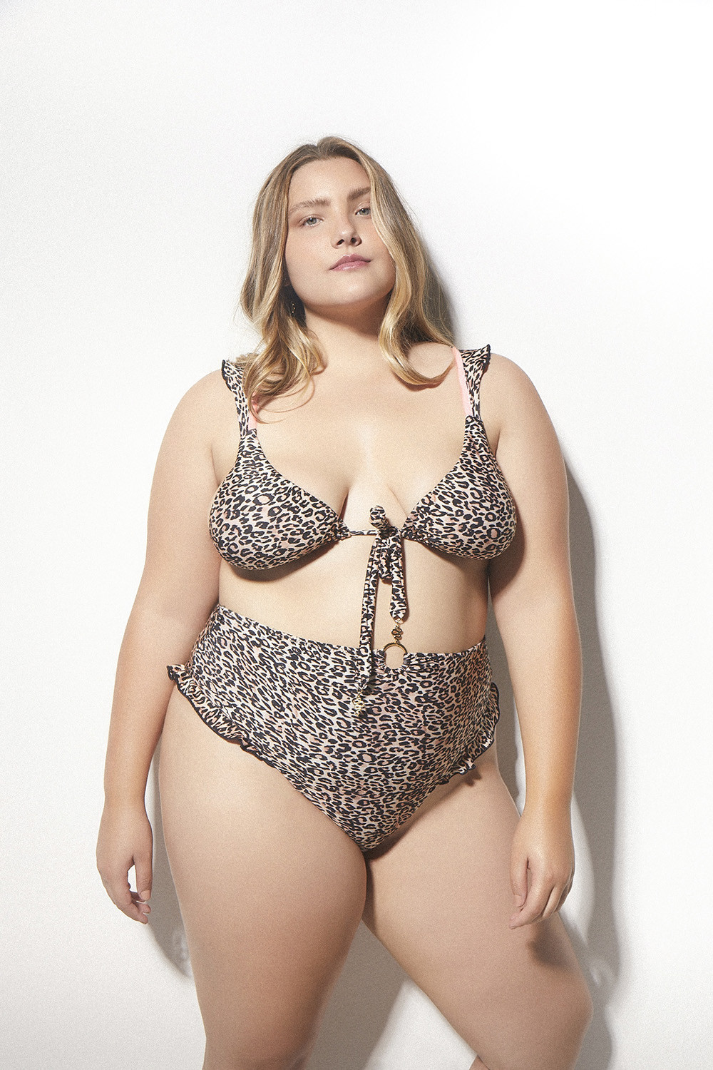 Top Any Curve Eletric Leopard