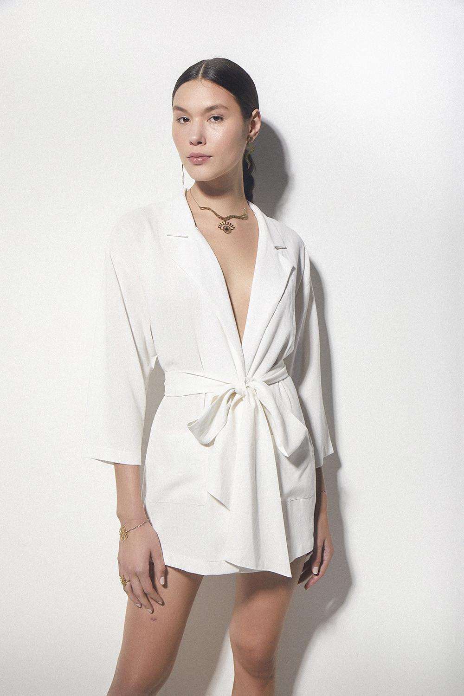 Camisa Abby Off White