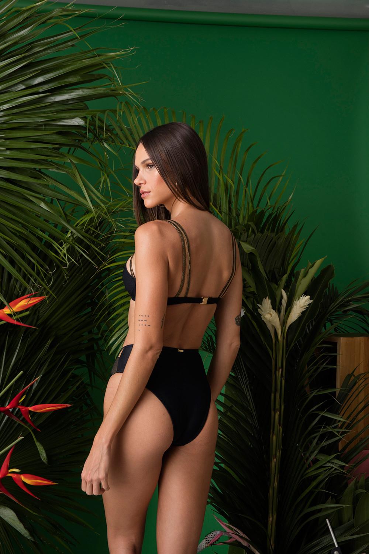 Calcinha Hot Pants Marieta Sombre