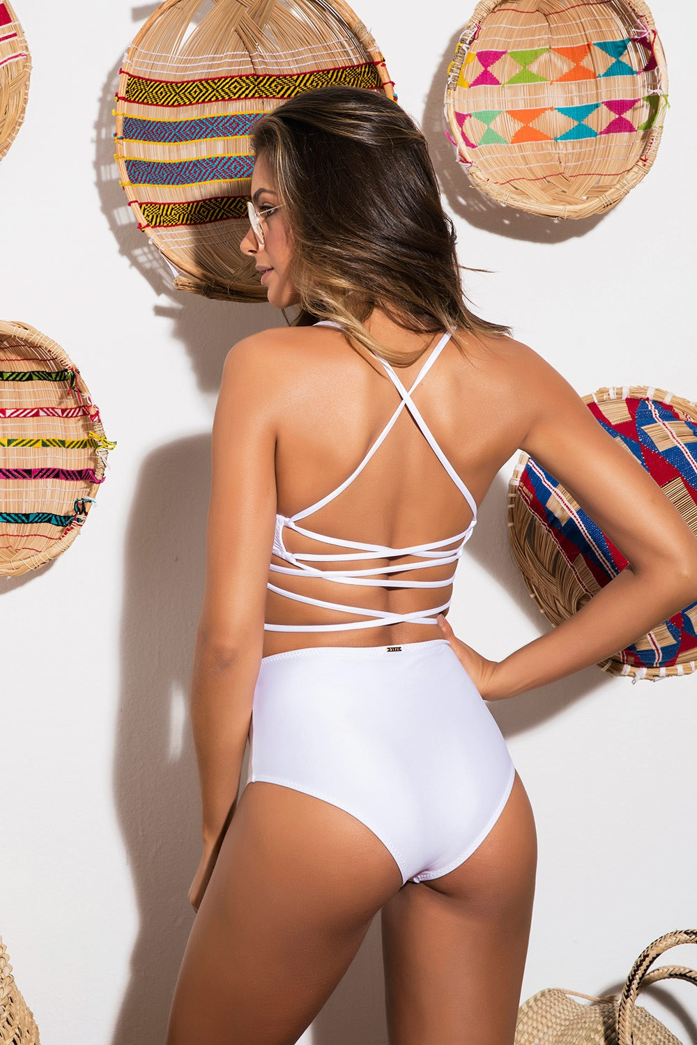 Calcinha Hot Pants Lissa White