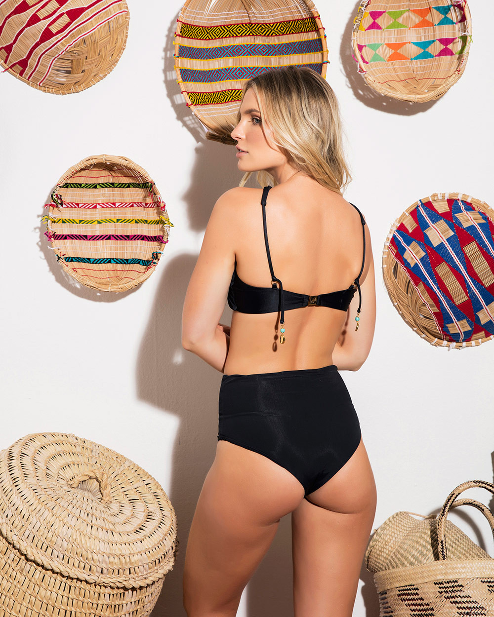 Calcinha Hot Pants Maré Rechileu Black