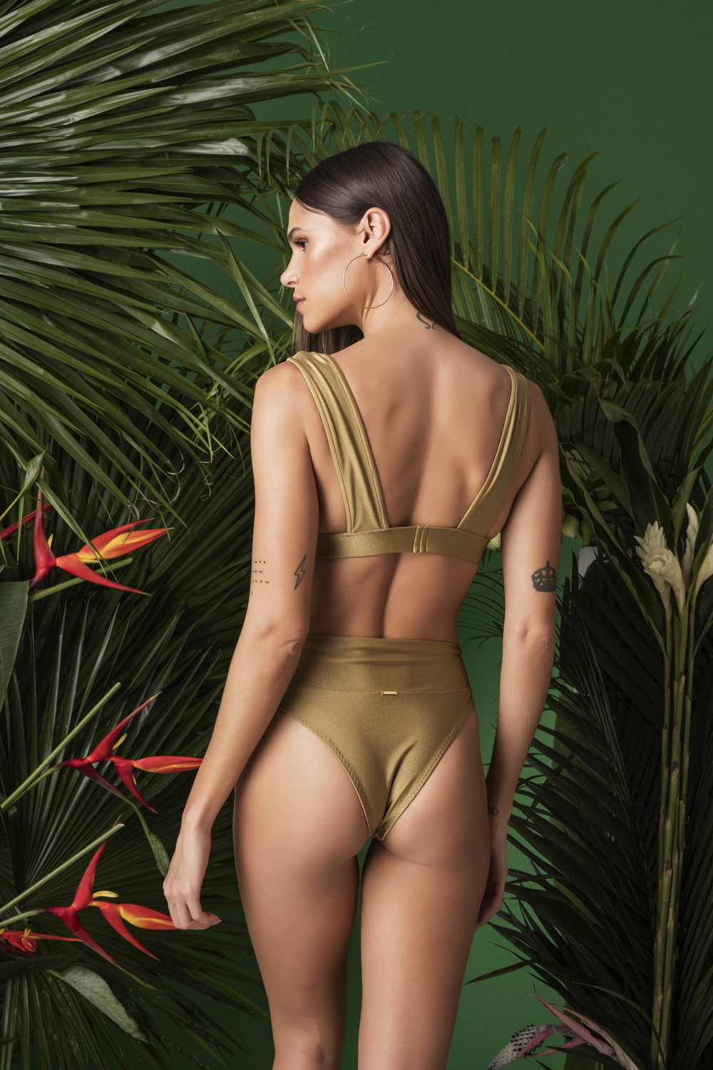 Calcinha Hot Pants Charlote D'or