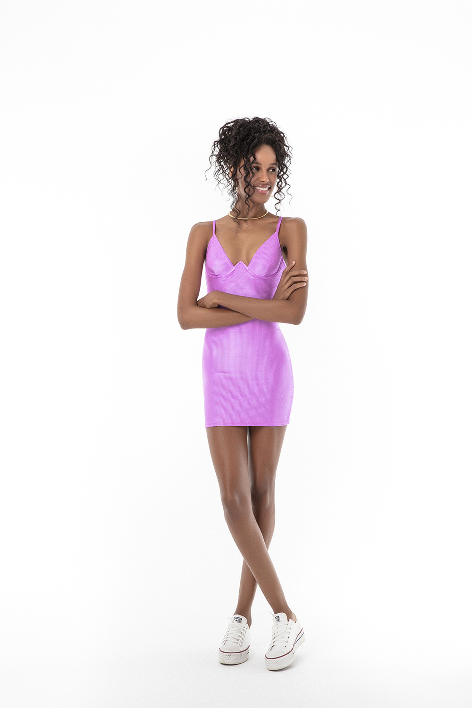 Vestido Alina Eletric Purple