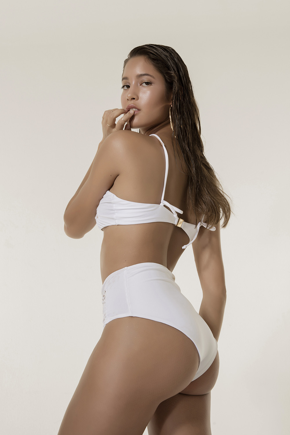 Calcinha Hot Pants Rechileu White