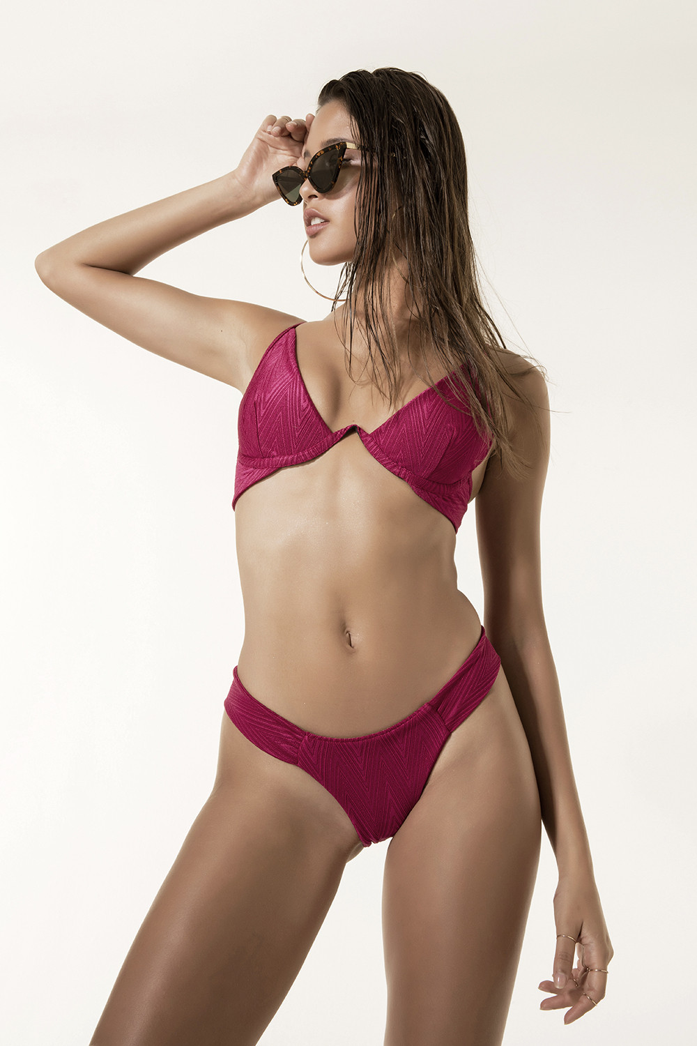 Top Thalia Fucsia