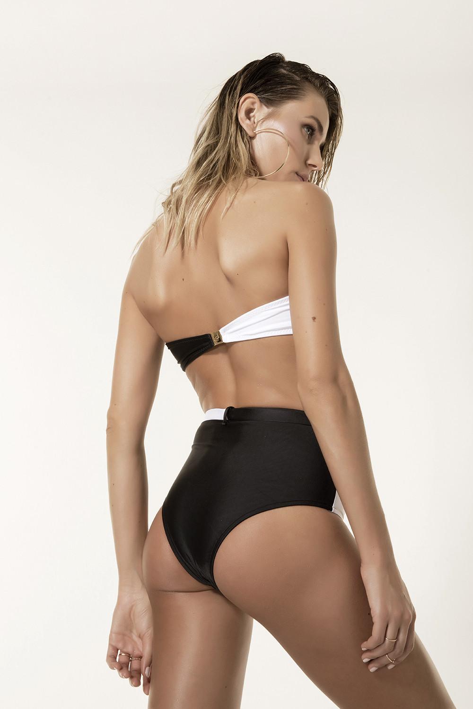 Calcinha Hot Pants Marisol/P&b