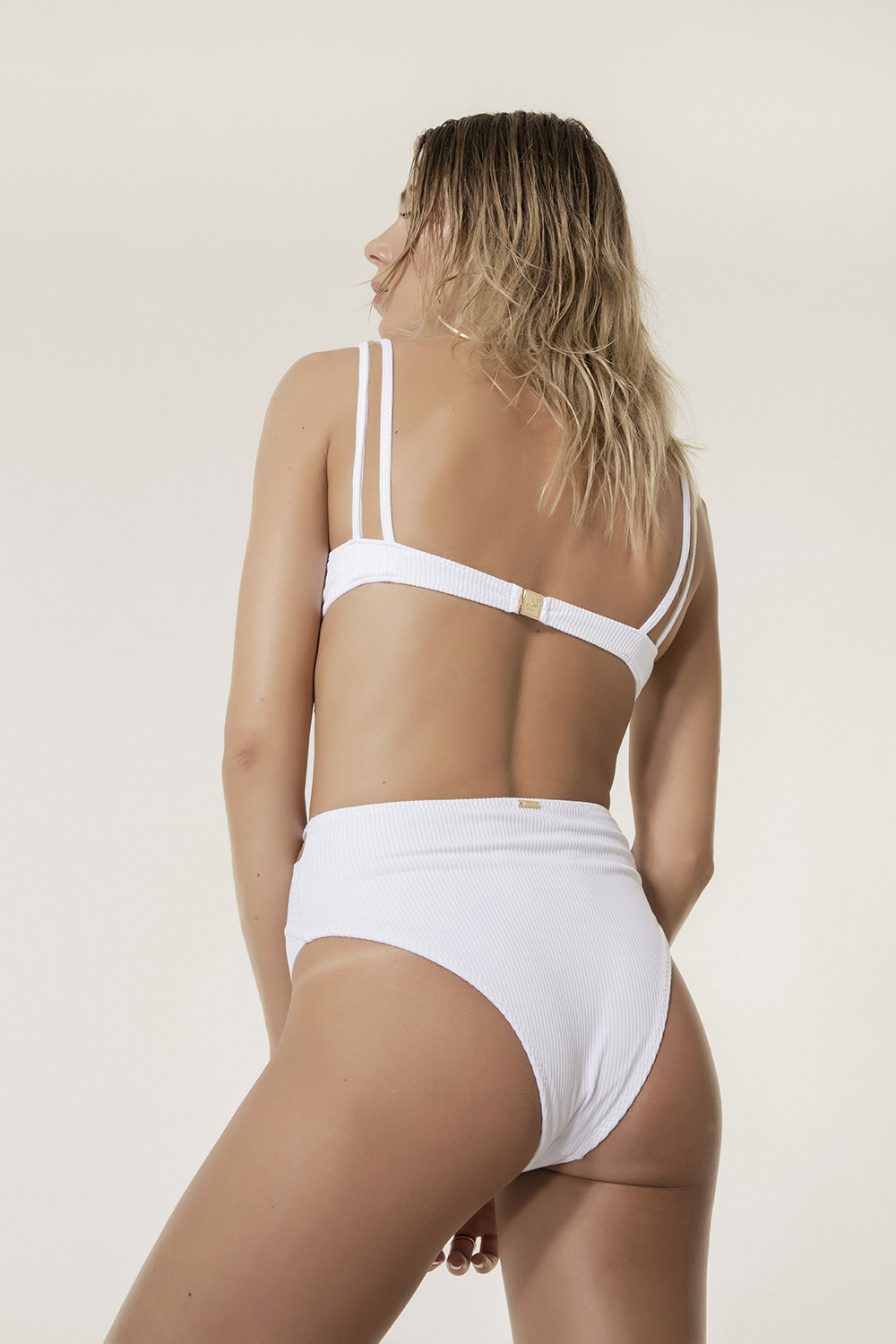 Calcinha Hot Pants Marieta White