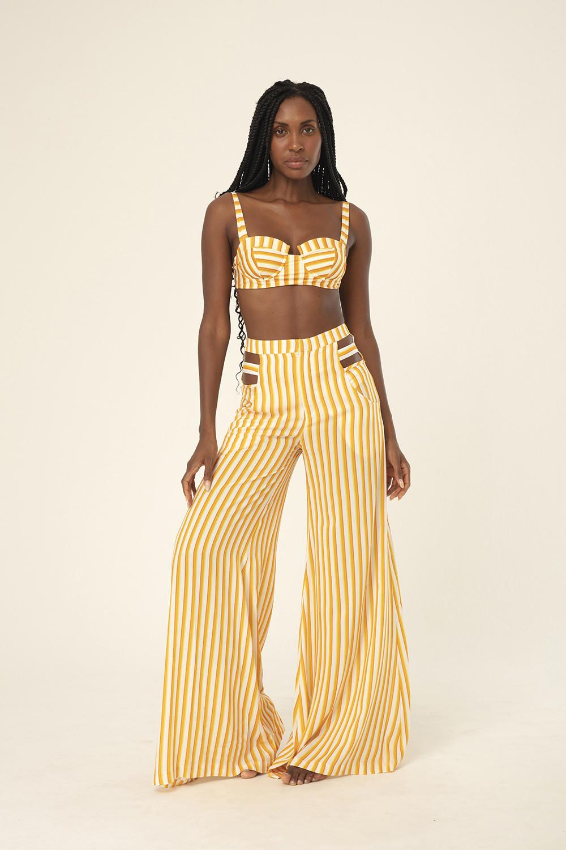 Calça Pantalona Alexandra Raio de sol