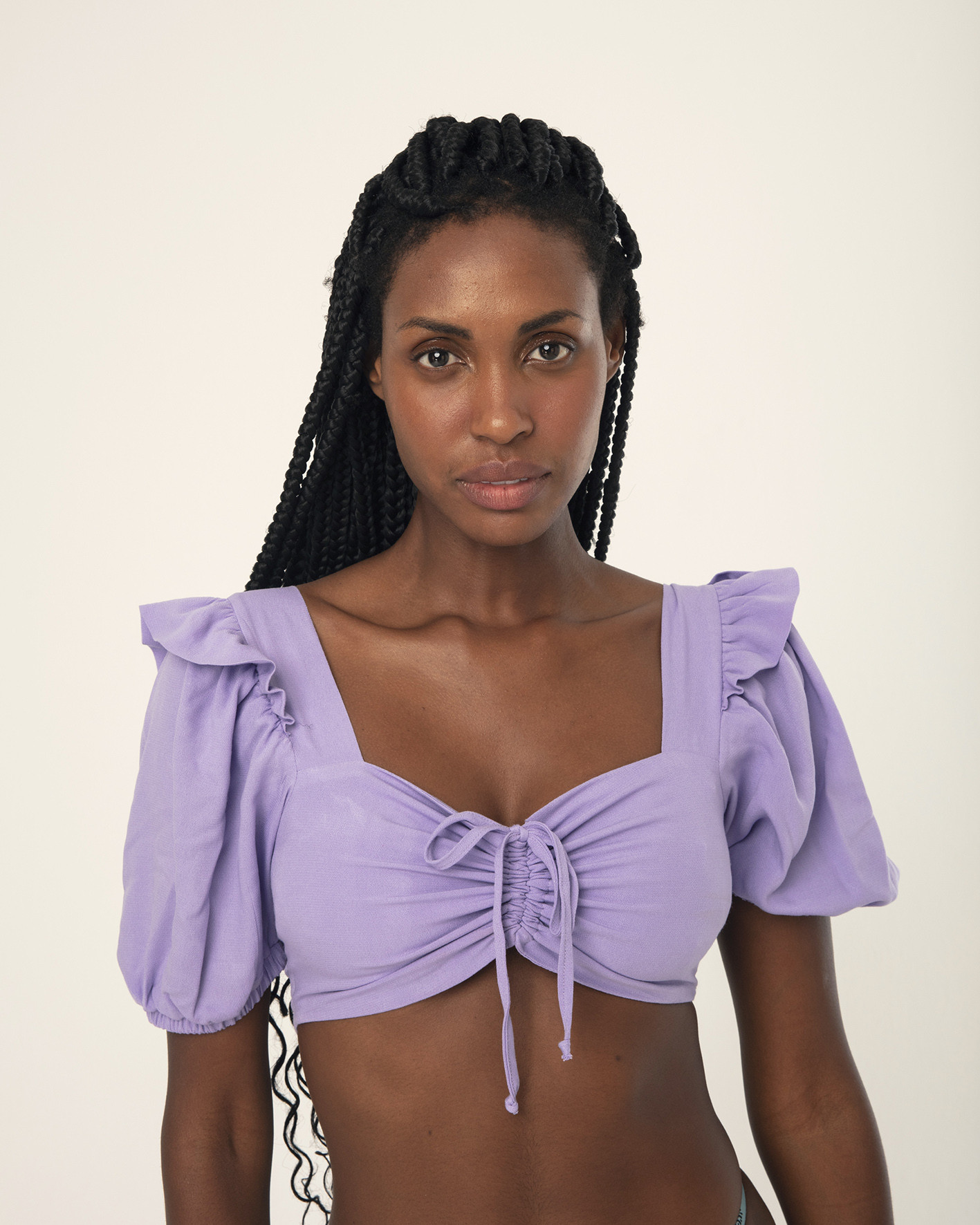 Top cropped lilac
