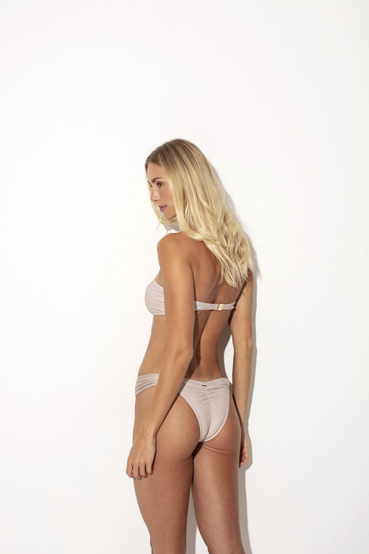Calcinha Aida Lurex Nude