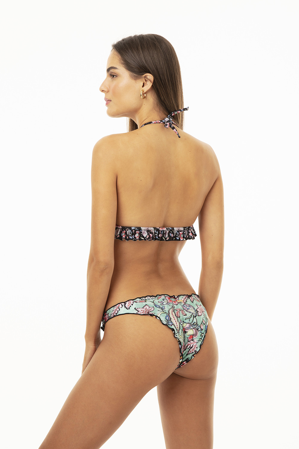 Calcinha Ripple Cool Floral Paisley