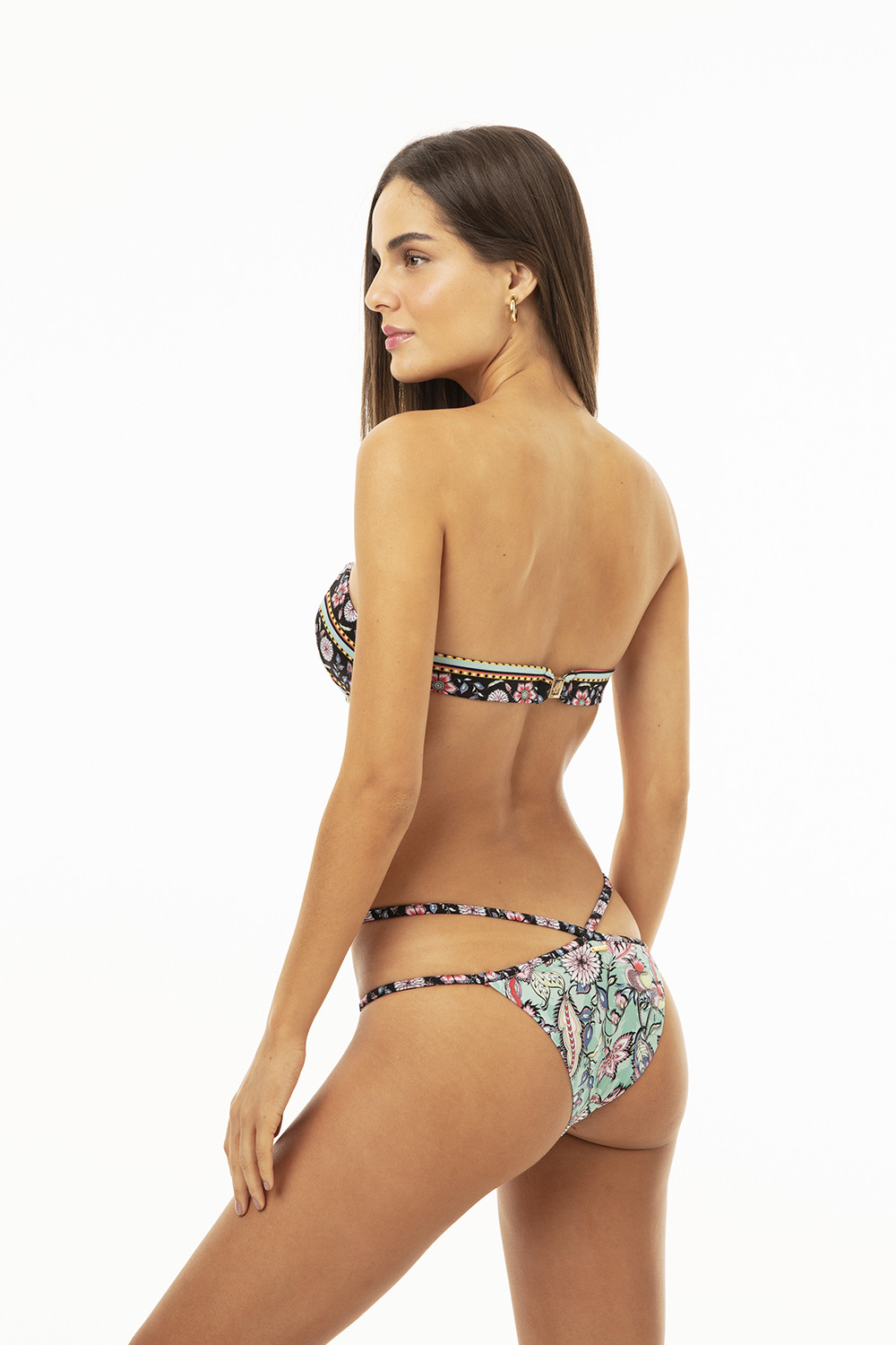 Calcinha Maby Floral Paisley