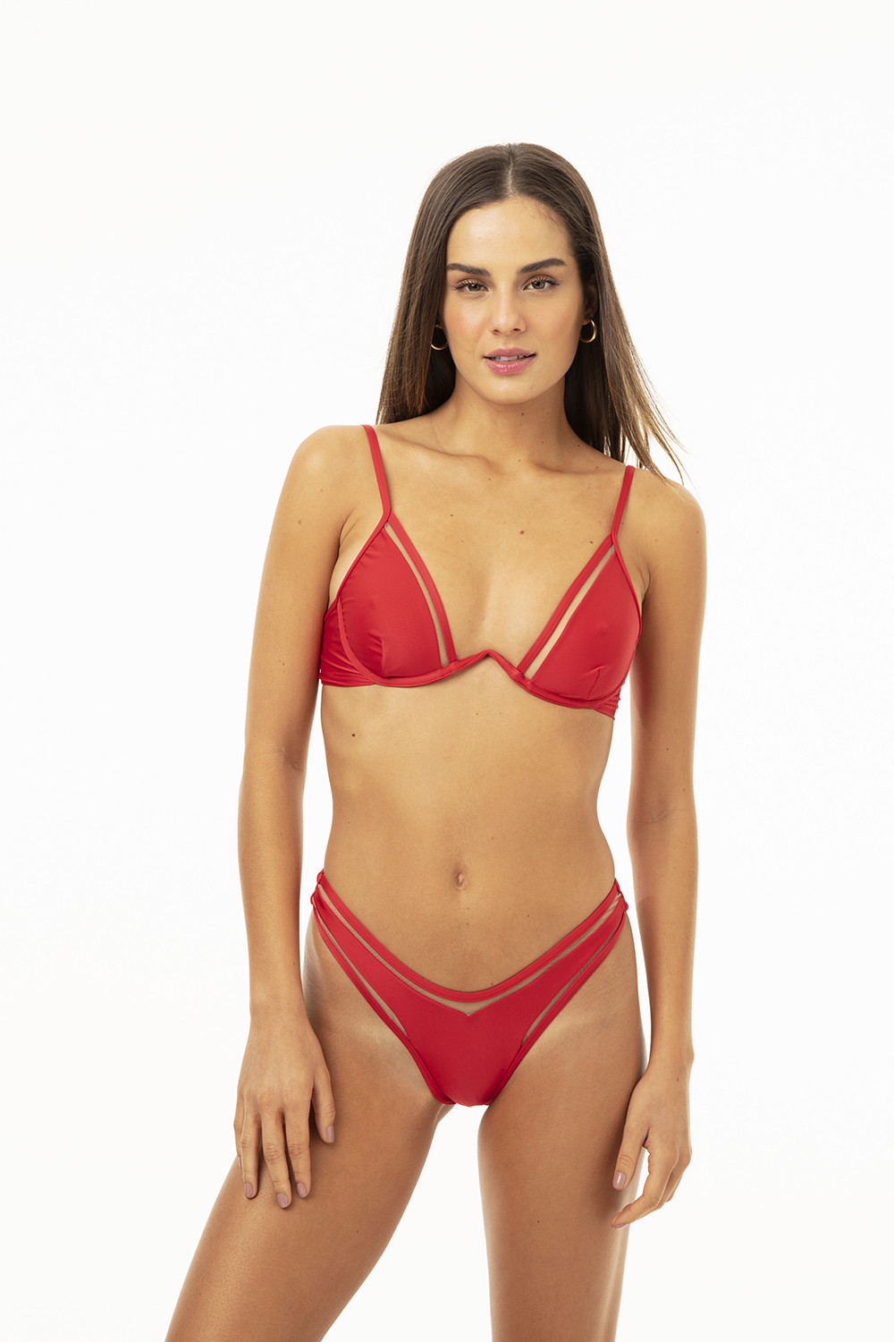 Top Kate Tule Red