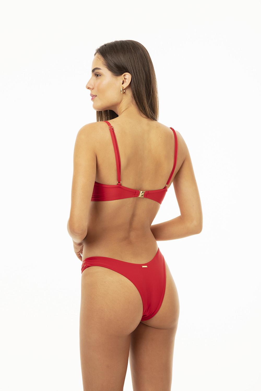Calcinha Kate Tule Red
