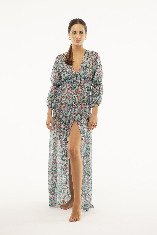 Vestido Iolanda Floral Paisley