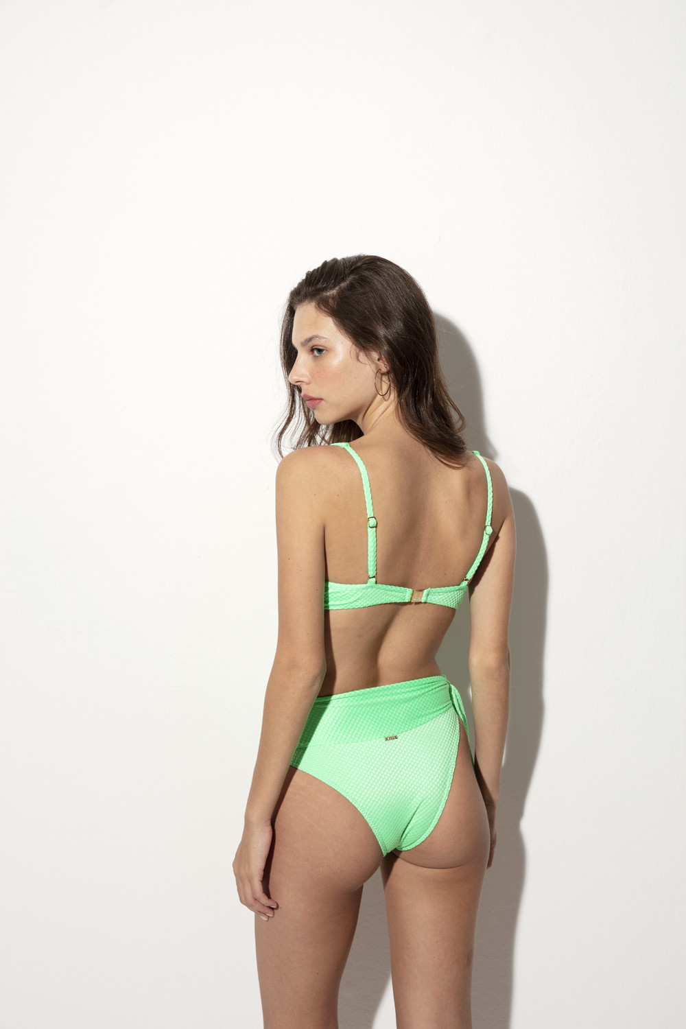Calcinha Hot Pants Agatha Eletric Green