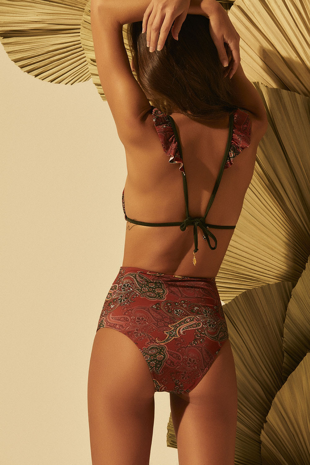 Calcinha Hot Pants Any Paisley