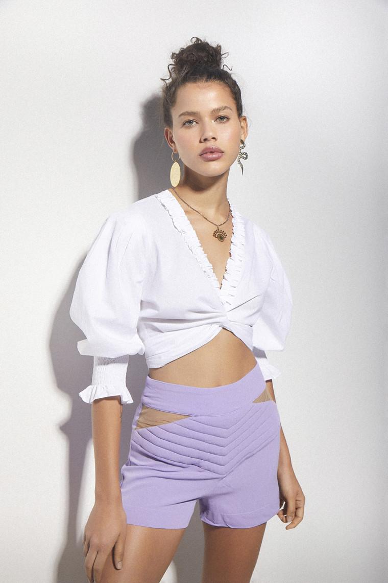 Shorts Liz Lilac
