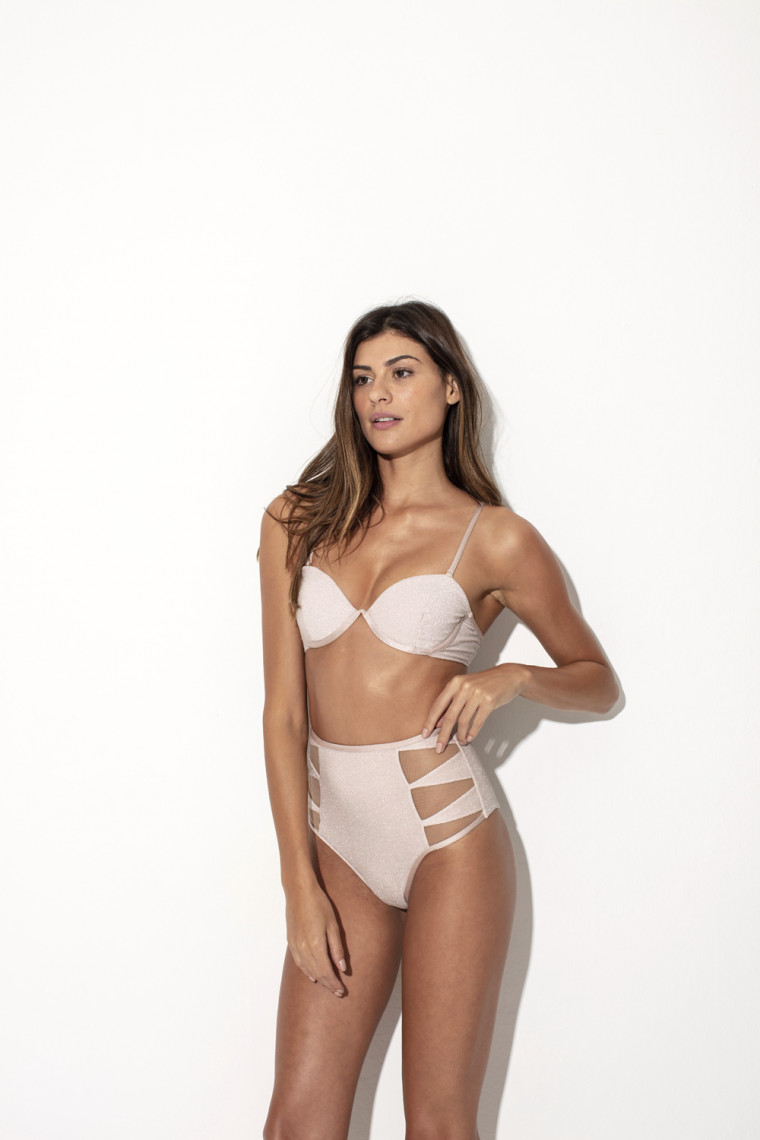 Top Ellora Lurex Nude