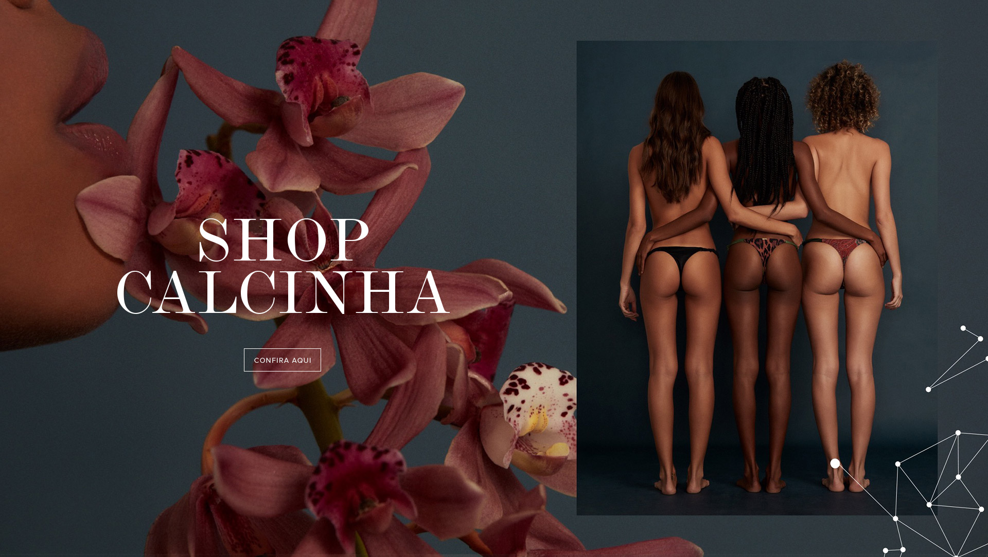 Moda praia, bikinis, cortininhas - Las sonhadora