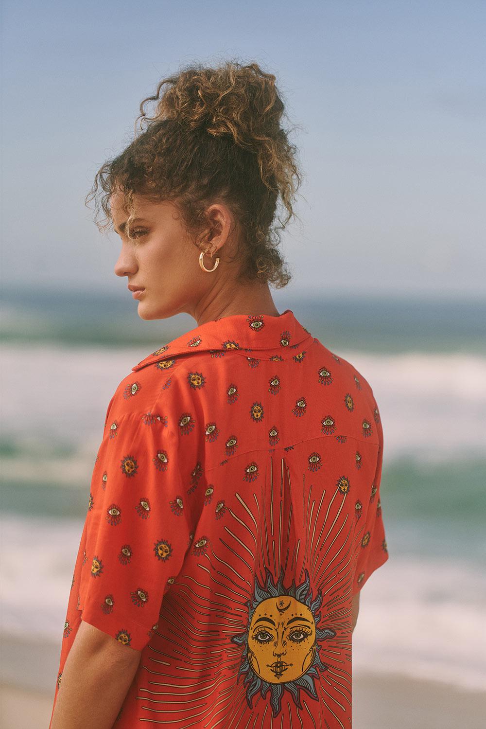 Camisa Orange Sun